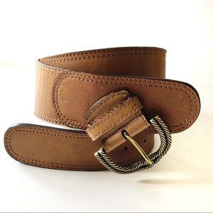 Chico's Leather Waist Belt